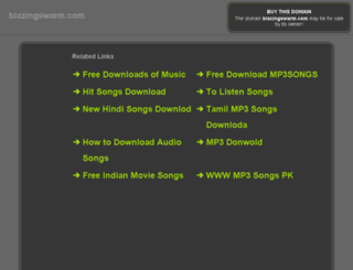 blazingswarm.com screenshot
