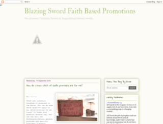 blazingswordpromotions.blogspot.com screenshot