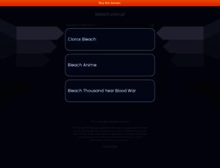 bleach.com.pl screenshot