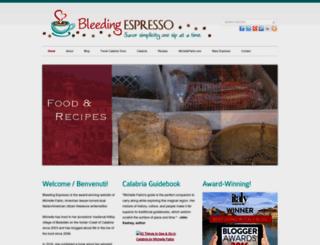 bleedingespresso.com screenshot