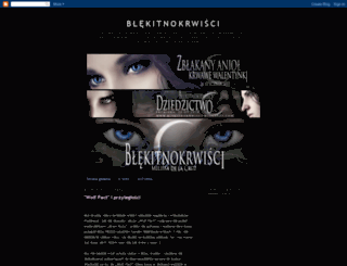 blekitnokrwisci.blogspot.com screenshot