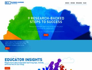 blendedlearning.org screenshot