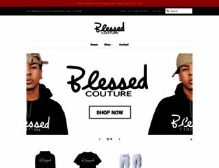 blessedcouture.net screenshot