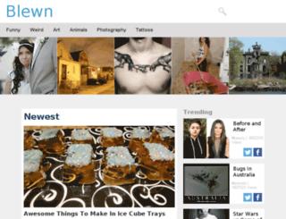 blewn.org screenshot