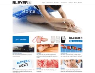 bleyergmbh.com screenshot