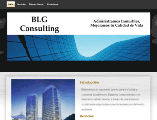 blgconsulting.yolasite.com screenshot