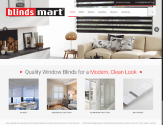blindsmart.co.za screenshot