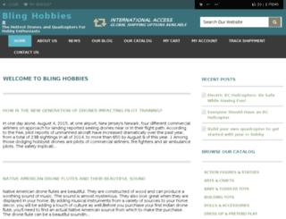blinghobbies.com screenshot
