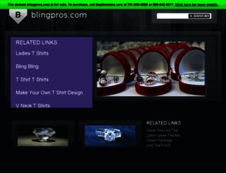 blingpros.com screenshot