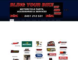 blingyourbike.com.au screenshot