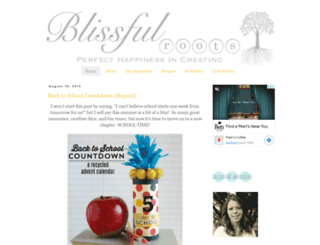 blissfulroots.blogspot.com screenshot