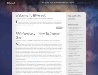 blittersoft.com screenshot