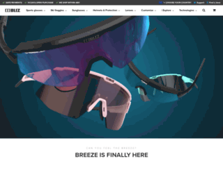 blizeyewear.com screenshot