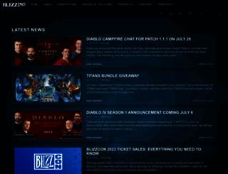 blizzpro.com screenshot