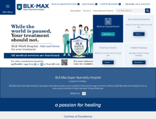 blkhospital.com screenshot