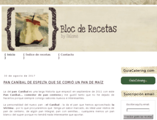 blocderecetas.blogspot.com.es screenshot