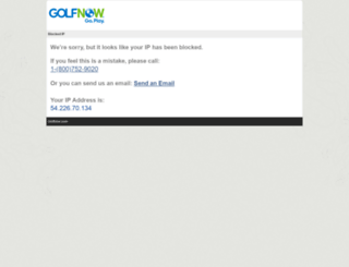 blockedip.golfnow.com screenshot
