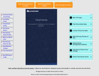 blockscollapsechallenge.funkyapps.info screenshot