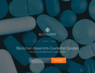 blockverify.io screenshot