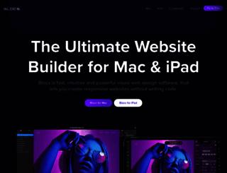 blocsapp.com screenshot