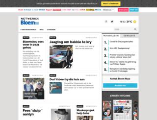 bloemnuus.co.za screenshot