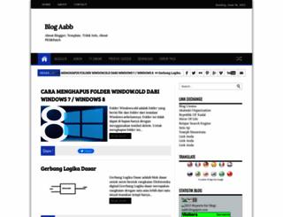 blog-aabb.blogspot.com screenshot
