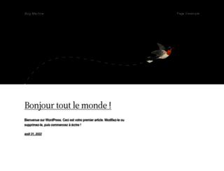 blog-machine.info screenshot