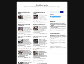 blog-modifikasi.blogspot.com screenshot