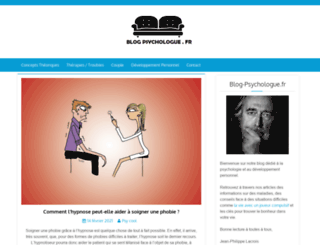 blog-psychologue.fr screenshot