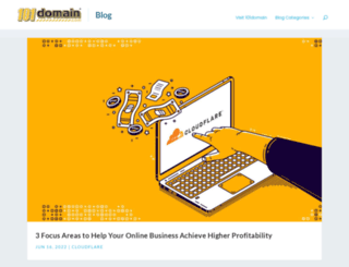 blog.101domain.com screenshot