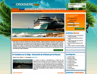 blog.aarcroisiere.com screenshot