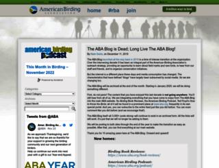 blog.aba.org screenshot