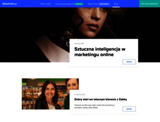 blog.absolvent.pl screenshot