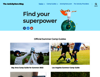 blog.activityhero.com screenshot