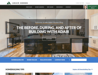 blog.adairhomes.com screenshot