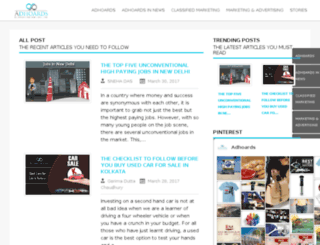 blog.adhoards.com screenshot