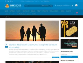 blog.aimgroup.ro screenshot