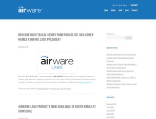 blog.airwarelabs.com screenshot
