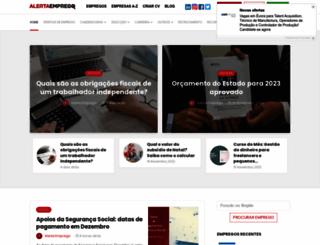 blog.alertaemprego.pt screenshot