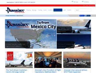 blog.amerijet.com screenshot