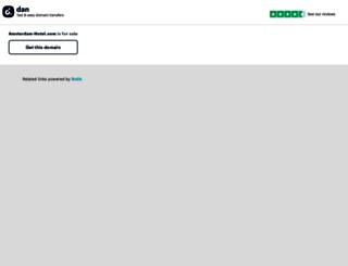 blog.amsterdam-hotel.com screenshot