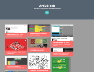 blog.ardublock.com screenshot