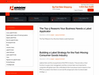 blog.argonstore.com screenshot