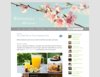 blog.aromatools.com screenshot