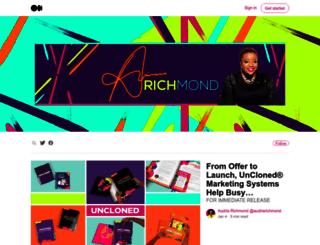 blog.audriarichmond.com screenshot