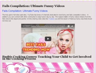 blog.barbie-cooking-games.com screenshot