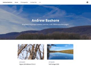 blog.bashtech.net screenshot