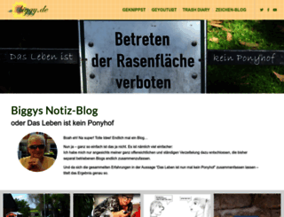 blog.biggy.de screenshot