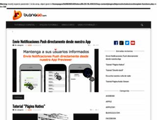blog.blanggo.com screenshot