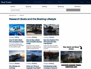 blog.boattrader.com screenshot